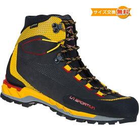 【 即納 】 スポルティバ トランゴ テック レザー GTX ( Black / Yellow ) ★ 登山靴 ・ 靴 ・ 登山 ・ アウトドアシューズ ・ 山歩き ★