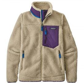 パタゴニア ◆ クラシック レトロX フリースジャケット レディース(Natural / Purple)