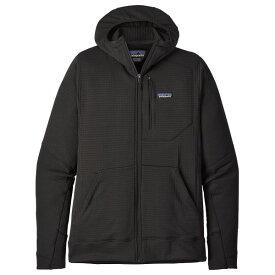 【 即納 】 パタゴニア ◆ メンズ R1 フルジップ フーディ Full-Zip Hoody (Black)