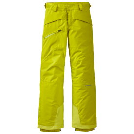 パタゴニア ◆ ボーイズ スノーショット パンツ ( Chartreuse )