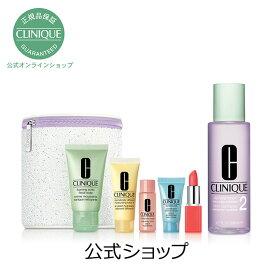 クリニーク 3ステップ スキンケア セット(スキンタイプ1、2、1.0 200mL)【CLINIQUE】(拭き取り 化粧水)(ギフト)