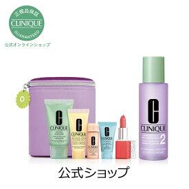 クリニーク 3ステップ スキンケア セット(スキンタイプ1、2、1.0 200mL)【CLINIQUE】( ふきとり化粧水 拭き取り化粧水 ふき取り化粧水 )(ギフト)
