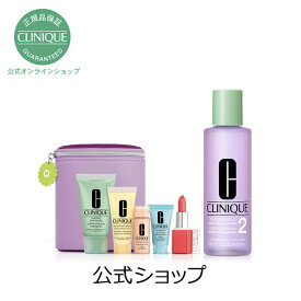 【送料無料】クリニーク 3ステップ スキンケア セット(スキンタイプ1、2、1.0 400mL)【CLINIQUE】( ふきとり化粧水 拭き取り化粧水 ふき取り化粧水 )(ギフト)