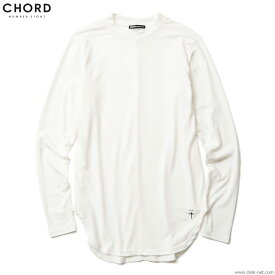 【CHORD NUMBER EIGHT】 コードナンバーエイトCHORD NUMBER EIGHT LONG CUTSEW (WHITE) [N8M1F5-CS09] メンズ Tシャツ 長袖 ホワイト