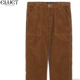 CLUCT CORDUROY BAKER PANTS (BROWN) #03023 クラクト コーディロイパンツ