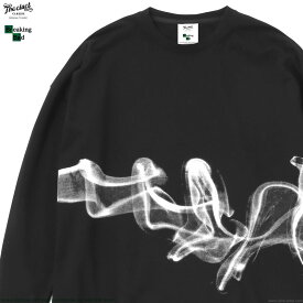【CLUCT】 クラクト CLUCT BREAKING BAD L/S (BLACK) [BREAKING BAD×CLUCT] #04105 メンズ Tシャツ 長袖 ブラック