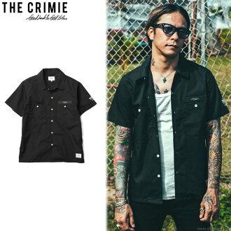 CRIMIE WORK SHIRT (BLACK) [C1H3-SH05]