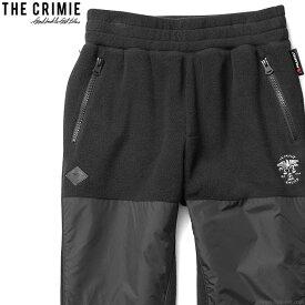 【CRIMIE】 クライミー CRIMIE POLARTEC FLEECE PANTS (BLACK) [CR01-01K5-PL02] メンズ ボトムス パンツ チノ ブラック