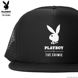 CRIMIE PLAYBOY LOGO MESH CAP [CR01-01K3-HW71] クライミー プレイボーイ コラボ キャップ 現品在庫限り SALE 10%OFF