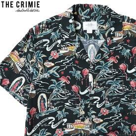 CRIMIE ALOHA SHIRT (BLACK) [CR01-01K3-SH02] クライミー 半袖シャツ アロハシャツ