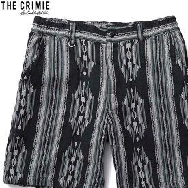 【予約/3月〜4月入荷予定】CRIMIE NATIVE JACQUARD SHORTS (BLACK) [CR01-02L1-PS20]