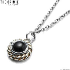【CRIMIE】 クライミー CRIMIE STONE 10K GOLD NECKLESS (BLACK) [CRA1-JW10-SN01] メンズ アクセサリー ネックレス