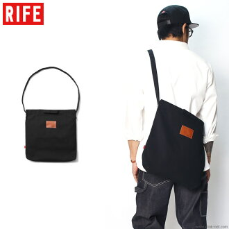 RIFE HEAVYCANVAS 2WAY SACOCHE (BLACK)
