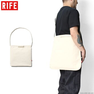 RIFE HEAVYCANVAS 2WAY SACOCHE (NATURAL)