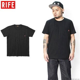 RIFE HEAVYWEIGHT POCKET TEE (BLACK)