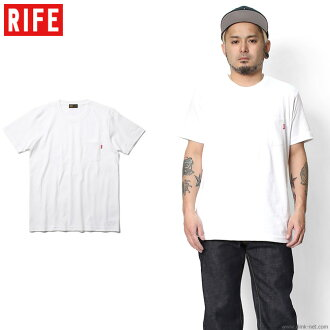 RIFE HEAVYWEIGHT POCKET TEE (WHITE)