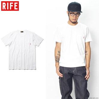 RIFE HEAVYWEIGHT POCKET TEE (WHITE)