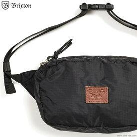 【BRIXTON】 ブリクストン BRIXTON STEWART HIP PACK (BLACK) メンズ バック ウエストバック