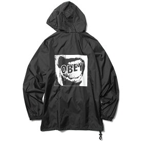 ba7d04fc229b SALE 50%OFF OBEY ANORAK PULLOVER HOOD