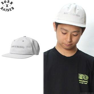 BORN X RAISED 3M REFLECTIVE HAT (GRAY) #33901