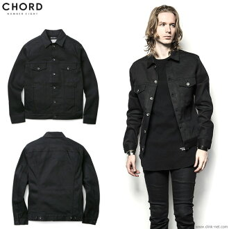 Under CHORD NUMBER EIGHT ACE DENIM JACKET (BLACK) [N8M1G1-JK01] ★ collect on delivery fee ★ perfection for free ★ campaign!★