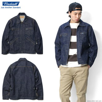 Under RADIALL MODEL-A JACKET (ONE WASH) ★ collect on delivery fee ★ perfection for free ★ campaign!★