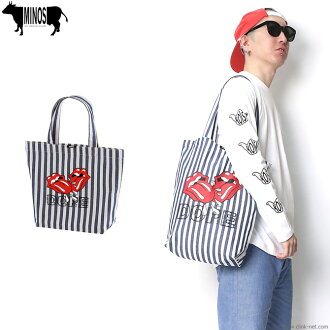 MINOS DOPE KISS COTTON TWILL TOTE BAG [MNR4-AC02]