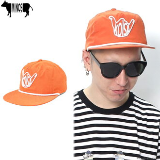 MINOS 5 PANEL KOISA NYLON CAP (ORANGE) [MNR4-CP01]
