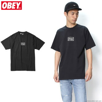"OBEY HEAVYWEIGHT BOX TEE ""OBEY TYPEWRITTER"" (OFF BLACK)"