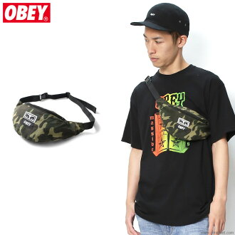 OBEY WASTED HIP BAG (FIELD CAMO)