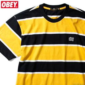 OBEY ACID CLASSIC TEE SS (BLACK MULTI) オベイ Tシャツ