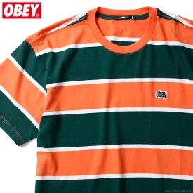 OBEY ACID CLASSIC TEE SS (EMBER MULTI) オベイ Tシャツ