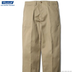 RADIALL CVS TROUSERS -WIDE FIT- (BEIGE) ラディアル 現品在庫限り SALE 10%OFF