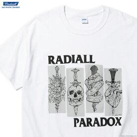 SALE 30%OFF 【RADIALL】 ラディアル RADIALL SST - CREW NECK T-SHIRT S/S (WHITE) メンズ Tシャツ 半袖