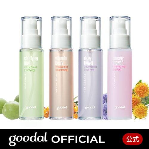 【GOODAL(グーダル)公式】グーダル ミスト 化粧水 保湿 香り かわいい 韓国 プチプラ スキンケア フェイスミスト しっとり 水分 ギフト プレゼント 贈り物