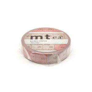【1000円以上お買い上げで送料無料♪】マスキングテープ mt ex 裁縫メジャー 10mm幅 和紙 クラフト デザイン ラッピング - メール便発送