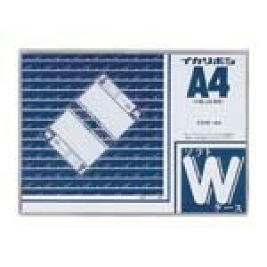 【1000円以上お買い上げで送料無料♪】西敬 ソフトダブルケース A4 CSW-A4 - メール便発送
