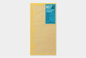【1000円以上お買い上げで送料無料♪】【TRAVELER'S notebook】トラベラーズノート リフィル レギュラーサイズ 007 名刺ファイル - メール便発送