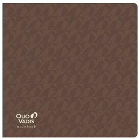 ノートブック 16×16 プレステージ モノグラム ブラウン アイボリーペーパー クオバディス - メール便発送