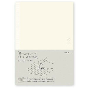※1000円以上 送料無料 デザインフィル ミドリ MDノート A5サイズ 横罫 - メール便発送