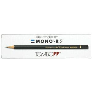 【1000円以上お買い上げで送料無料♪】トンボ鉛筆 鉛筆モノR H 紙箱 MONO-RSH - メール便発送