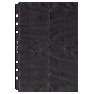 【1000円以上お買い上げで送料無料♪】Bindex バインデックス システム手帳 リフィル A5 名刺ホルダー(薄型タイプ) A5521 - メール便発送