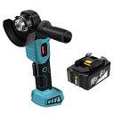 【お得な2点セット】充電式ディスクグラインダー BL1860B マキタ互換バッテリー セット グラインダー 充電式 コードレ…