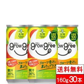 【送料無料】 新日配薬品 growgree グローグリー 乳酸菌配合の青汁 160g 缶 15本 2箱(計30本)北海道配送非対応
