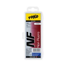 最安値に挑戦 TOKO トコ ワックス NF/レッド【純パラフィン】120g/5502002【固形 スキー スノーボード WAX】
