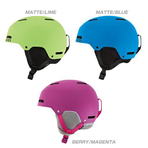 【スキー スノーボード用 ヘルメット】16-17 GIRO ジロスキーヘルメット CRUE【ヘルメット ジュニア】