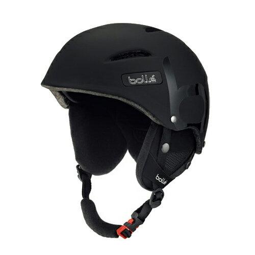 ★ポイント10倍★【スキー スノーボード用 ヘルメット】16-17 bolle ボレー ヘルメット B-STYLE/Soft Black【ヘルメット】