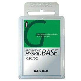 最安値に挑戦!GALLIUM ガリウム ワックス SW2040 HYBRID BASE 100g【固形 スキー スノーボード WAX】