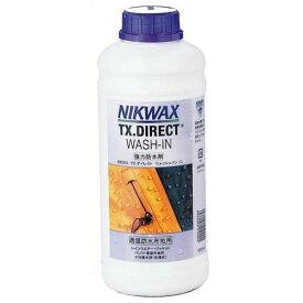 【強力撥水剤】NIKWAX ニクワックス TX.DIRECT WASH-IN BE253/TXダイレクトウォッシュイン 1L【アクセサリー・小物】
