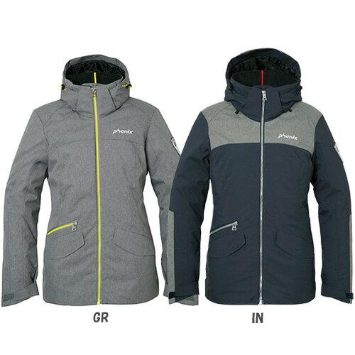 【レディース・女性用 スキーウェア ジャケット単品】PHENIX フェニックス Virgin Snow Jacket PS682OT67【スキーウェア 単品】